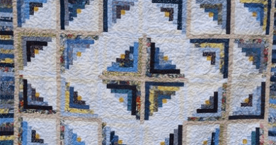 Cabin Fever Blues Quilt