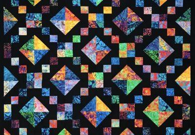 Jewel Box Quilt and Quilt Block