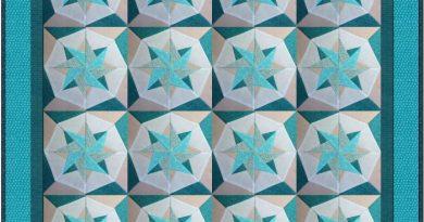 Woven Star Block Quilt