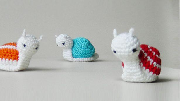 Amigurumi snail crochet pattern   346x615