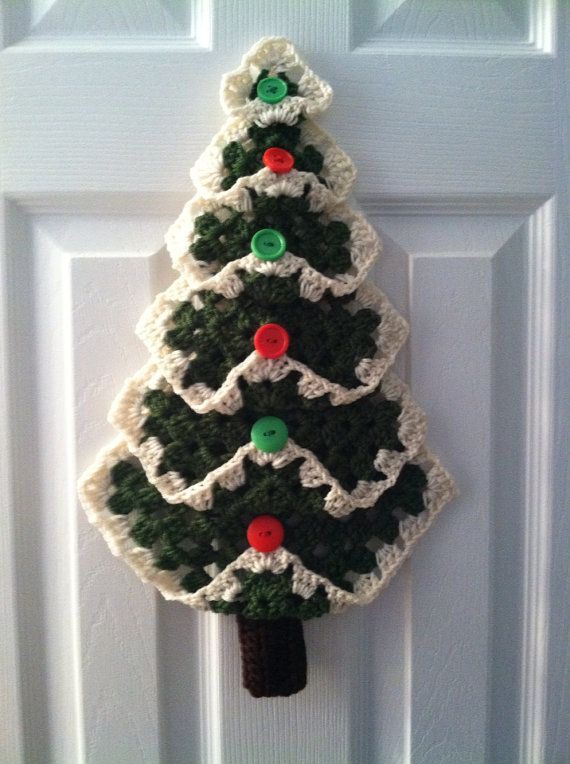 Grandma S Square Christmas Tree Crochet 187 Craft For The World