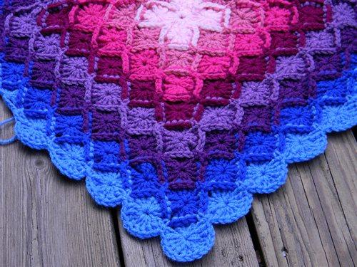 bavarian crochet baby blanket free pattern