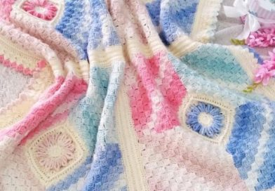 Flower Corners Blanket