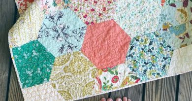 Large Hexagon Quilt