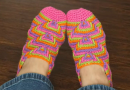 Crochet Apache's Tears Slippers