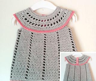 Baby Delight Crochet Dress