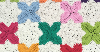 Star and Cross Square Crochet