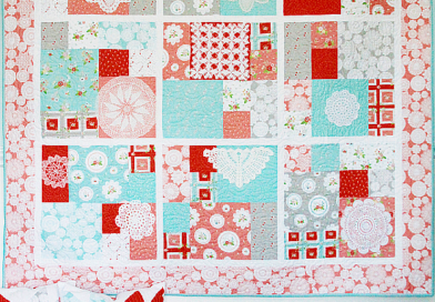 Make A Keepsake Quilt From Vintage Doilies