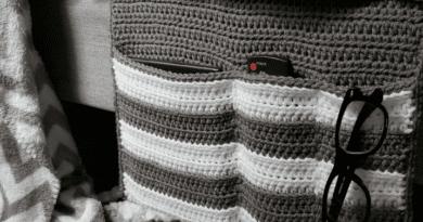 Bernat Hide-Away Crochet Sofa Caddy