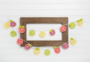 Lily Sugar'n Cream You're The Zest Citrus Crochet Bunting