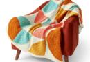 Patons Quarter Circle Crochet Blanket